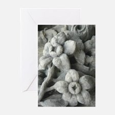 Stone flowers Greeting Cards (Pk of 10)