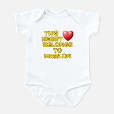 This Heart: Marlon (D) Infant Bodysuit