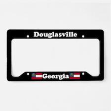 Douglasville, GA License Plate Holder