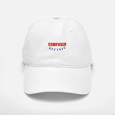 Retired Composer Baseball Baseball Cap