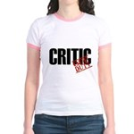 Off Duty Critic Jr. Ringer T-Shirt