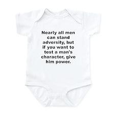 Unique Adverse Infant Bodysuit
