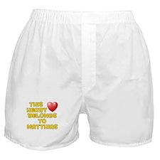 This Heart: Matthias (D) Boxer Shorts