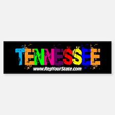Colorful Tennessee Bumper Bumper Bumper Sticker