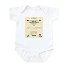 Tombstone Hooker Notice Infant Bodysuit