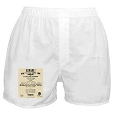 Tombstone Hooker Notice Boxer Shorts