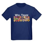 Will Trade for Daylilies Kids Dark T-Shirt