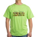 Will Trade for Daylilies Green T-Shirt