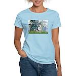 Lilies (#1) - Corgi (Bl.M) Women's Light T-Shirt