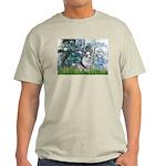 Lilies (#1) - Corgi (Bl.M) Light T-Shirt