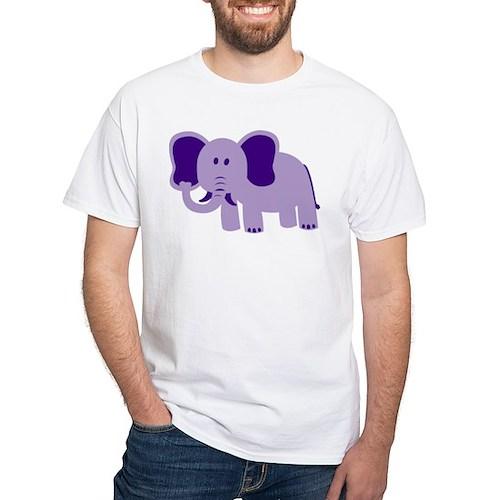 purple elephant T-Shirt