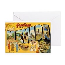 Greetings from Nevada Greeting Card