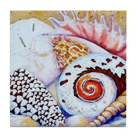 Shells Tile Coaster