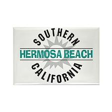 Hermosa Beach California Rectangle Magnet (10 pack