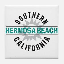 Hermosa Beach California Tile Coaster
