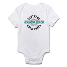 Hermosa Beach California Infant Bodysuit