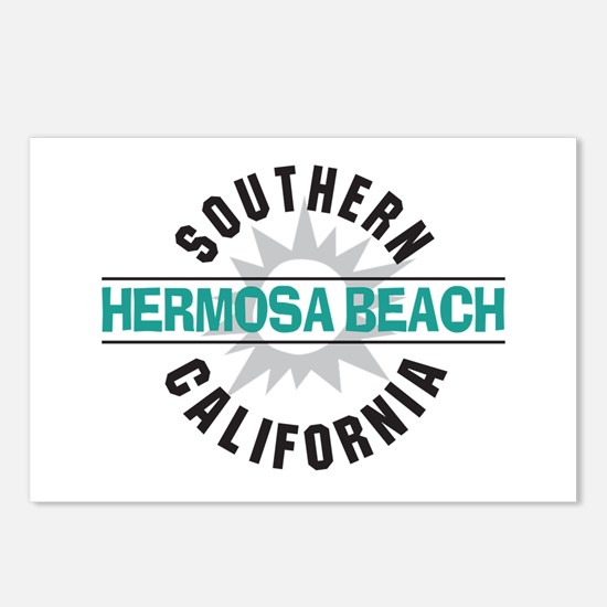 Hermosa Beach California Postcards (Package of 8)