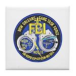 New Orleans Gang Task Force Tile Coaster