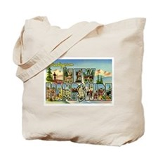 Greetings from New Hampshire Tote Bag