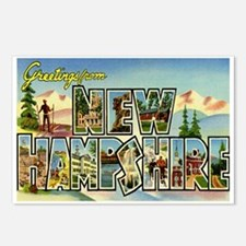 Greetings from New Hampshire Postcards (Package of
