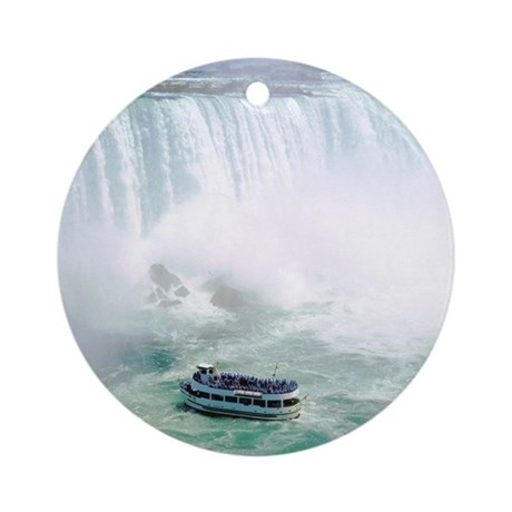 Maid of the Mist Ornament (Round)