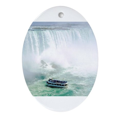 Maid of the Mist Oval Ornament