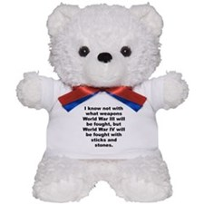 Einstein quotation Teddy Bear