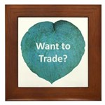 Want to trade hostas? Framed Tile