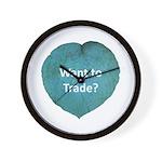 Want to trade hostas? Wall Clock