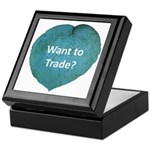 Want to trade hostas? Keepsake Box
