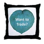 Want to trade hostas? Throw Pillow