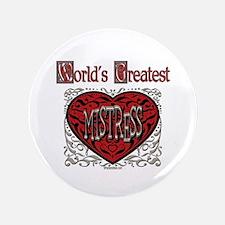 """World's Best Mistress 3.5"""" Button (100 pack)"""