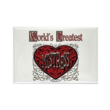 World's Best Mistress Rectangle Magnet