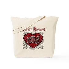 World's Best Mistress Tote Bag