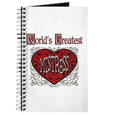 World's Best Mistress Journal