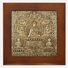 Tibetan Buddha Framed Tile