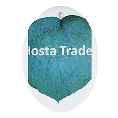 Hosta Trader Oval Ornament