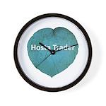 Hosta Trader Wall Clock