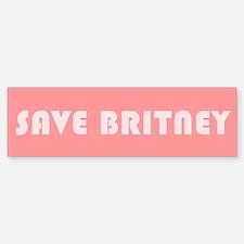 SAVE BRITNEY Bumper Bumper Bumper Sticker