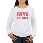 SAVE BRITNEY Women's Long Sleeve T-Shirt