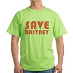 SAVE BRITNEY Green T-Shirt