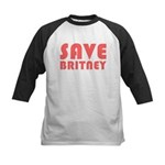 SAVE BRITNEY Kids Baseball Jersey