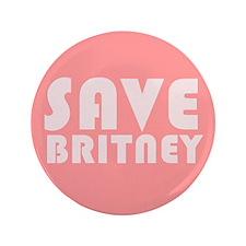 """SAVE BRITNEY 3.5"""" Button"""