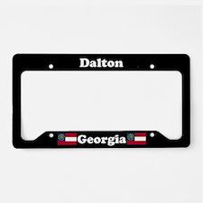 Dalton, GA License Plate Holder