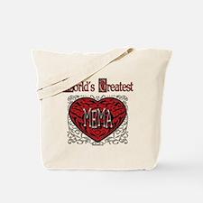 World's Best Mema Tote Bag