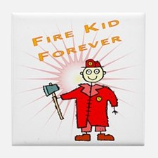 Firefighter Kids Gifts Tile Coaster