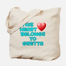 This Heart: Gretta (E) Tote Bag