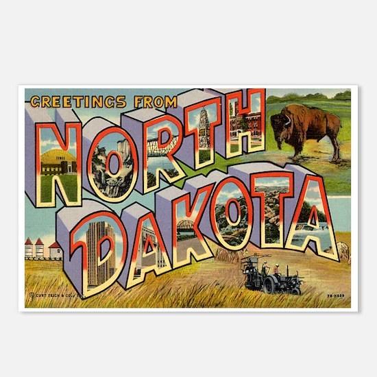 Greetings from North Dakota Postcards (Package of