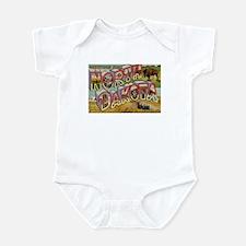 Greetings from North Dakota Infant Bodysuit