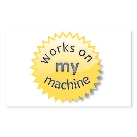 Works on My Machine sticker